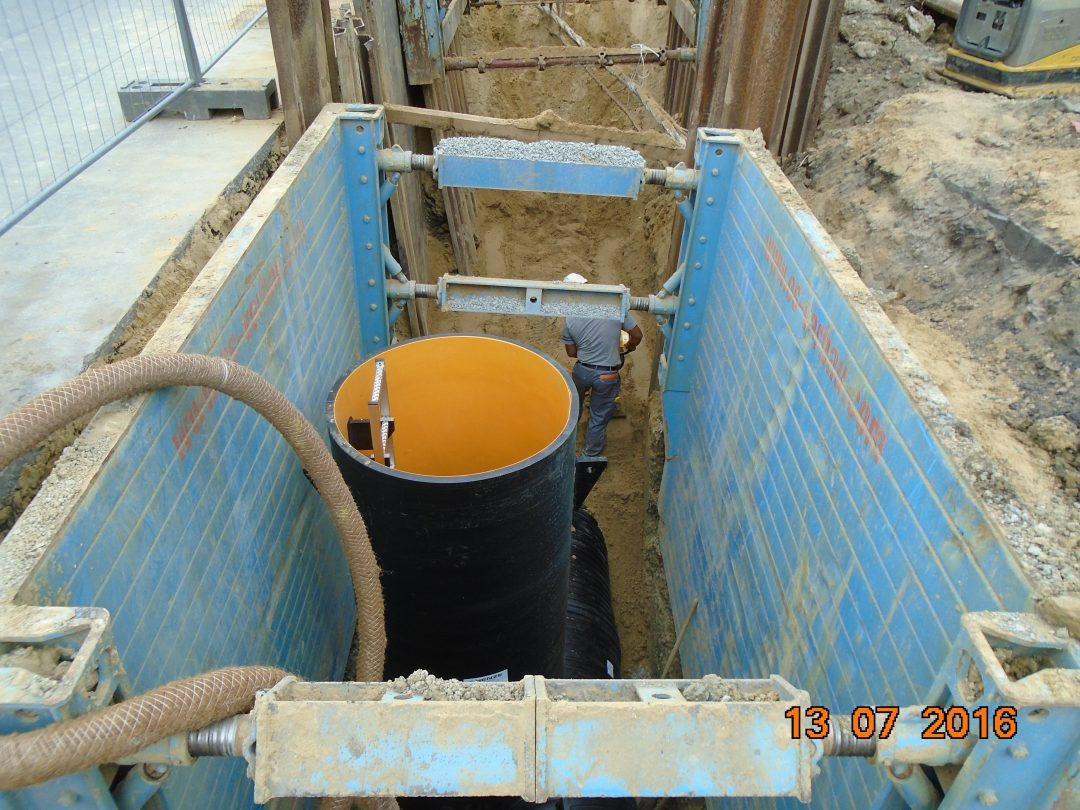 Abwasserbetrieb Warendorf – Neubau Entlastungskanal
