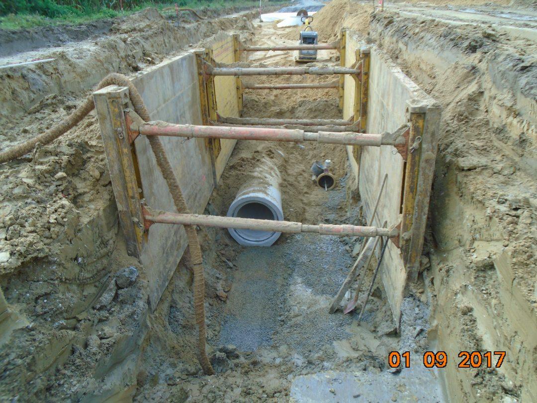 Abwasserbetrieb TEO – Grothues, Erweiterung Gewerbegebiet